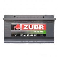 Автомобильный аккумулятор ZUBR PREMIUM 105.0